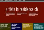 Artists residencies in Switzerland
